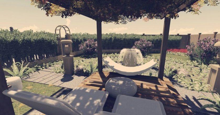 Backyard, patio, pools, arcbazar, landscape
