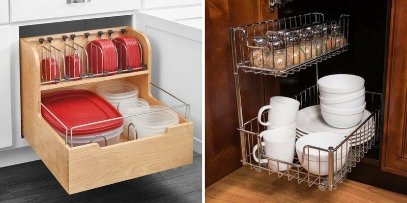 organizing tips sliding storage