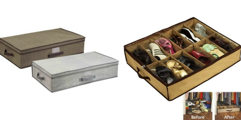 organizing tips under the bed storage