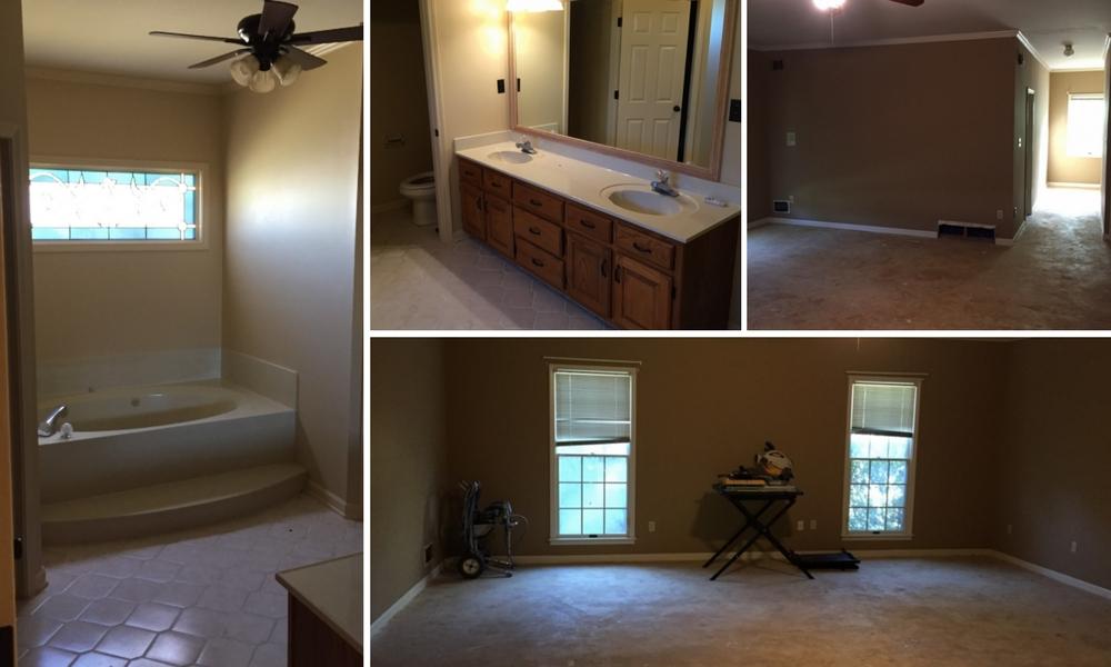 master suite renovation original