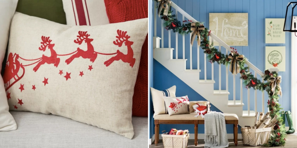 throw pillows holiday decorations